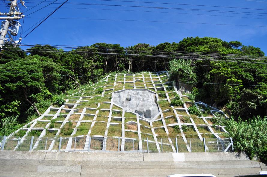 林地荒廃第123号 柏島林地荒廃防止工事